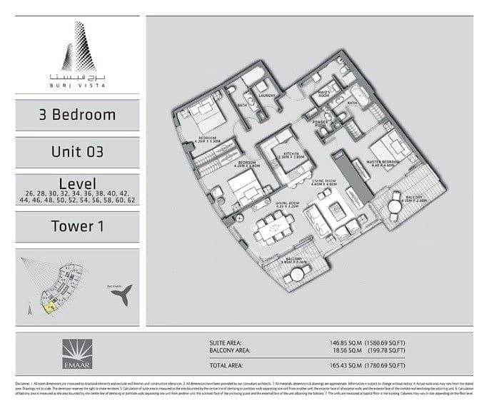 10 Three Bedrooms | Maids | Full Burj Views