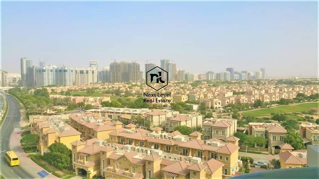 nice view chiller free 1 bedroom with balcony and parking