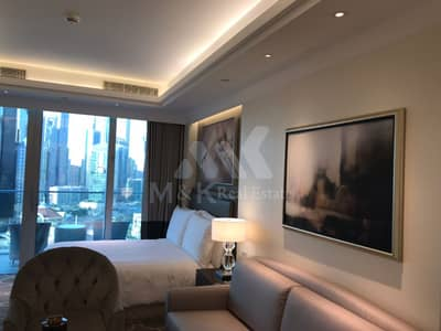 Hotel Apartment for Rent in Downtown Dubai, Dubai - New and Furnished Studio Apt in The Address. .
