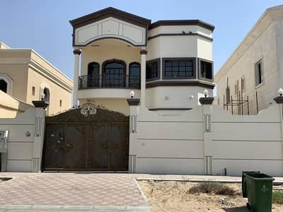 Villa for rent in Ajman Al Hamidiyah, two floors, 5 rooms, a majlis and a hall, monsters, only 80 thousand dirhams