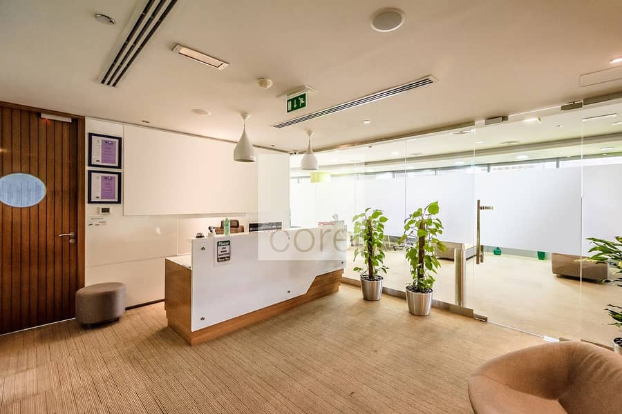 Combined Offices | Furnished | Partitioned