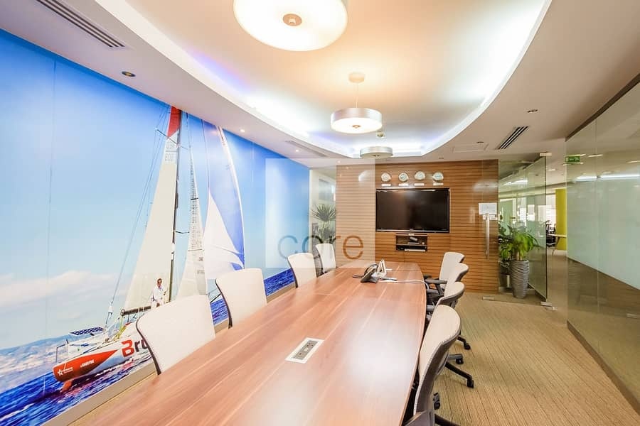 2 Combined Offices | Furnished | Partitioned