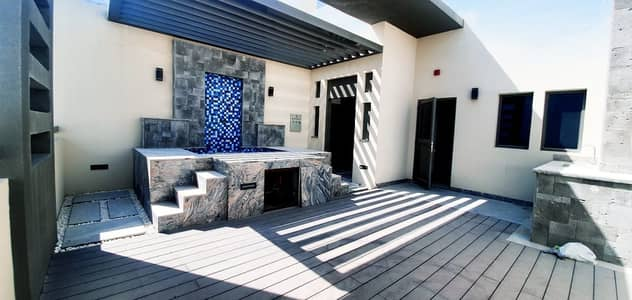 4 Bedroom Villa for Rent in Jumeirah Village Circle (JVC), Dubai - Italian interior  4BED+Maid  Roof with Jacuzzi