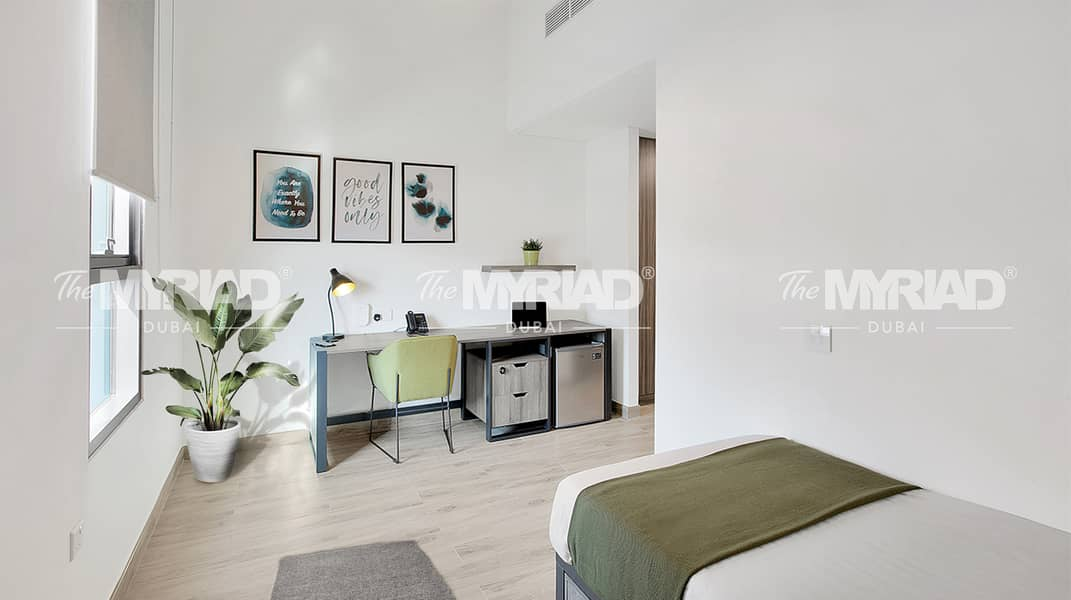 Student Accommodation | Accessible Room - Male Block | The Myriad Dubai