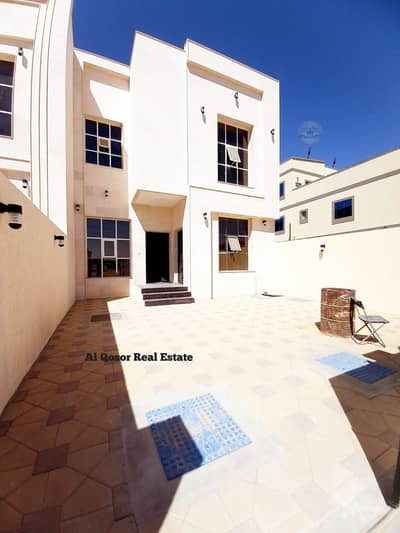 5 Bedroom Villa for Sale in Al Yasmeen, Ajman - Get rid of the rent and own a stone front villa on the street in comfortable installments