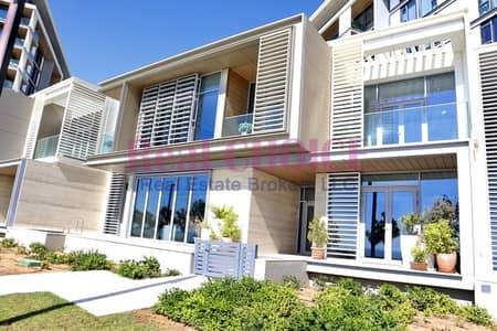 تاون هاوس 4 غرف نوم للبيع في جزيرة بلوواترز، دبي - Prime| Private Secluded & Tranquil with Sea View