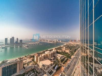 3 Bedroom Apartment for Sale in Dubai Marina, Dubai - Stunning 3BR with full Sea Palm and Dubai eye view