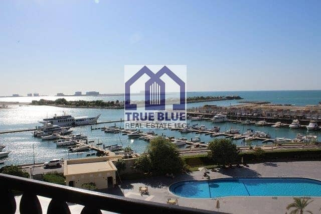 1 NEW LISTING: MARINA LARGE ONE BEDROOM SEA VIEW