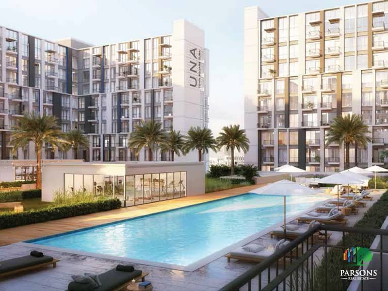 UNA | Town Square |  Own a ready apartment in Dubai in five years installments