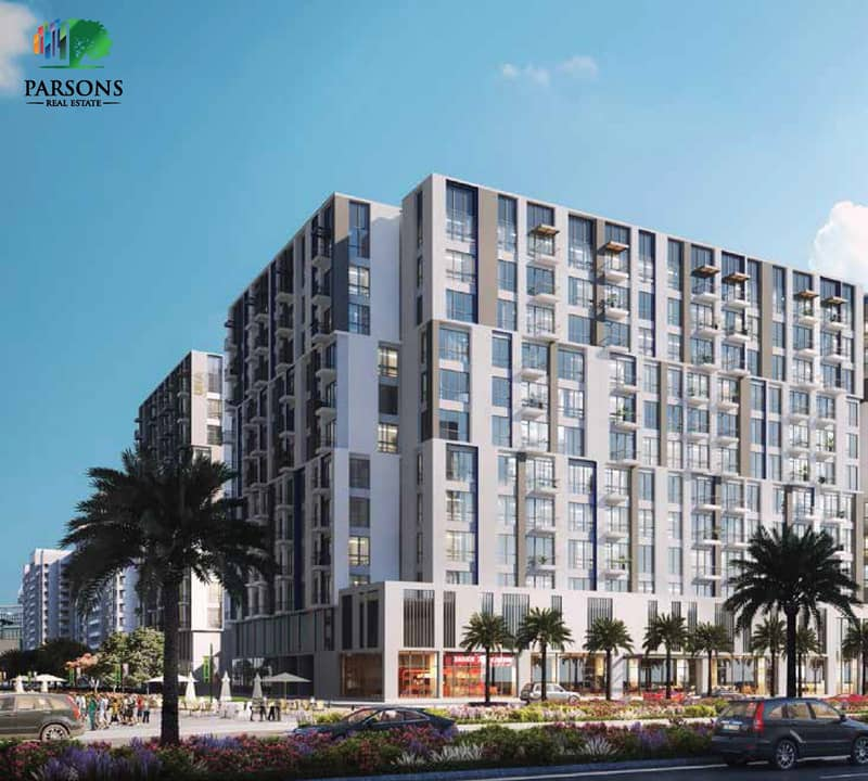 2 UNA | Town Square |  Own a ready apartment in Dubai in five years installments