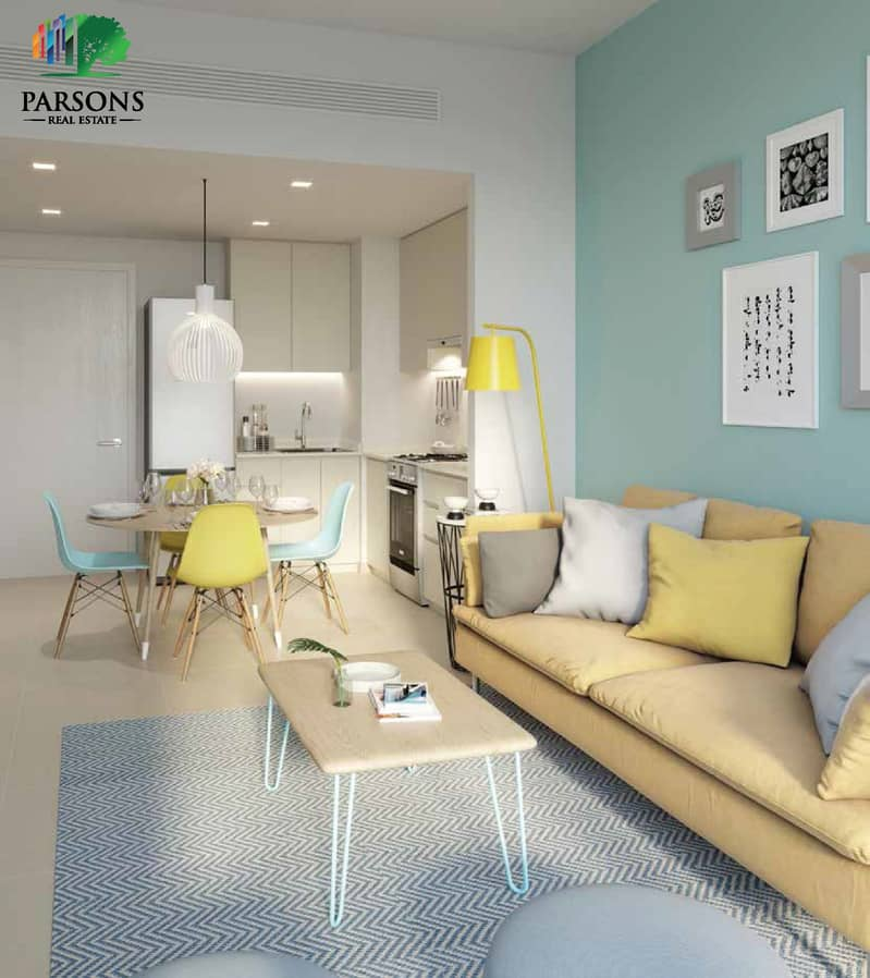 18 UNA | Town Square |  Own a ready apartment in Dubai in five years installments
