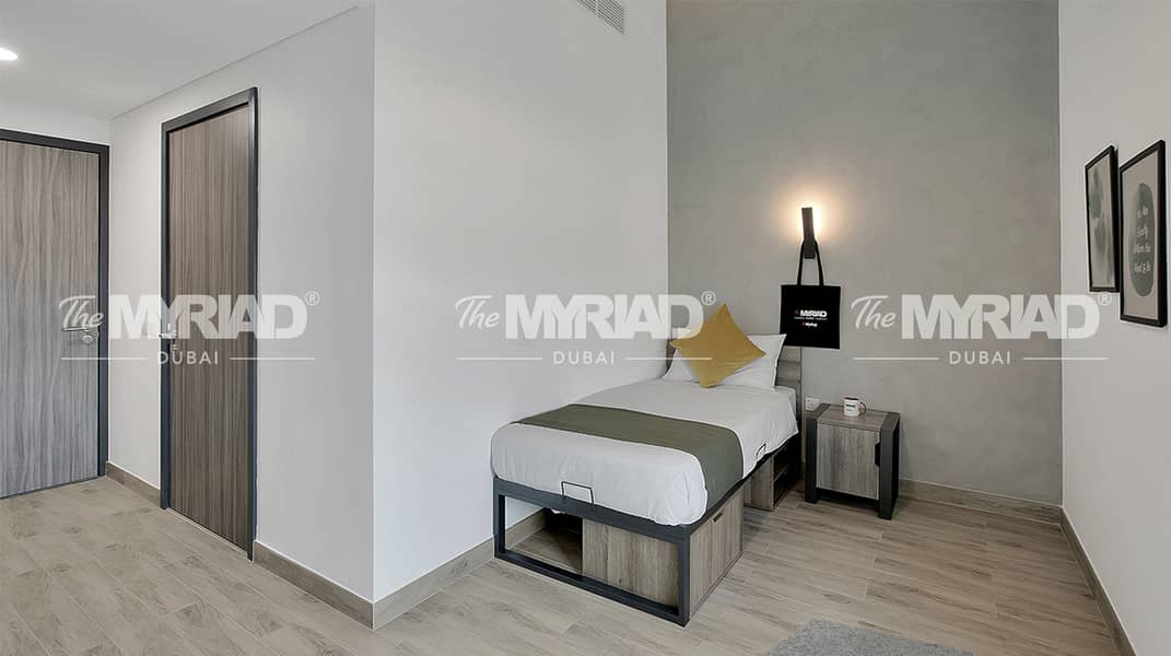 Student Accommodation | Accessible Room - Female Block | The Myriad Dubai
