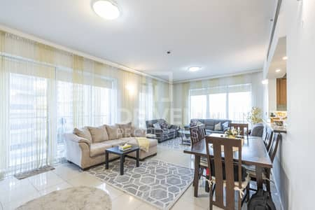2 Bedroom Apartment for Rent in Dubai Sports City, Dubai - Furnished and Elegant | Golf Course View