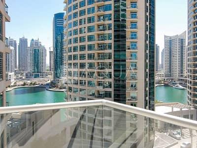 1 Bedroom Flat for Rent in Dubai Marina, Dubai - Great Layout | Balcony | Marina & Sea View