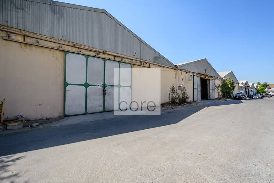 10 Spacious Warehouse | Excellent Location
