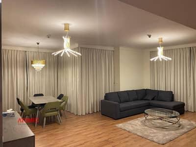 فلیٹ 2 غرفة نوم للايجار في ذا لاجونز، دبي - Amazing Skyline Furnished 2br For Rent In Heart Of Dubai