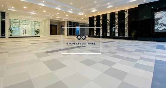 Partial Burj Khalifa and Lake| Furnished Studio in Business Bay