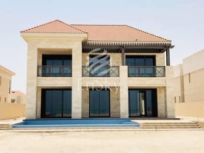 فیلا 7 غرف نوم للايجار في جزيرة السعديات، أبوظبي - Beach Front Villa with Mangrove View