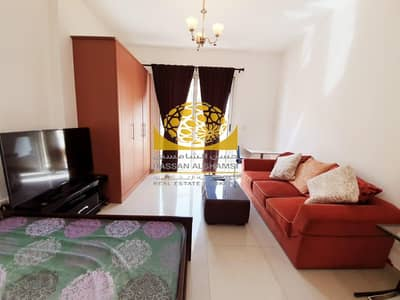 Studio for Rent in Dubai Production City (IMPZ), Dubai - Exclusive-Well Maintained-Furnished On High Floor
