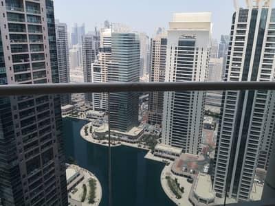 فلیٹ 1 غرفة نوم للايجار في أبراج بحيرات الجميرا، دبي - 1BHK | Corner Unit | High Floor | Lake View In Lake Shore  Tower JLT