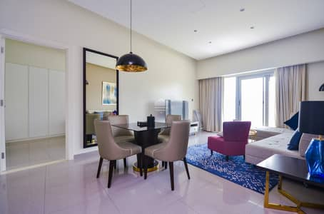 2 Bedroom Apartment for Rent in Business Bay, Dubai - Luxurious furnished  apartment at Damac Maison Majestine