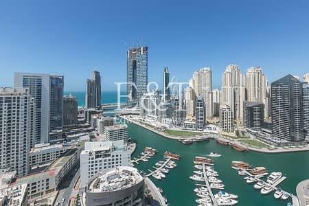 3 Bedroom Apartment for Rent in Dubai Marina, Dubai - Available Now|Full Marina and Sea View|High Floor
