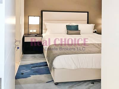1 Bedroom Apartment for Rent in Jumeirah Village Circle (JVC), Dubai - 2 Bed Fully Furnished | High Floor | Brand New