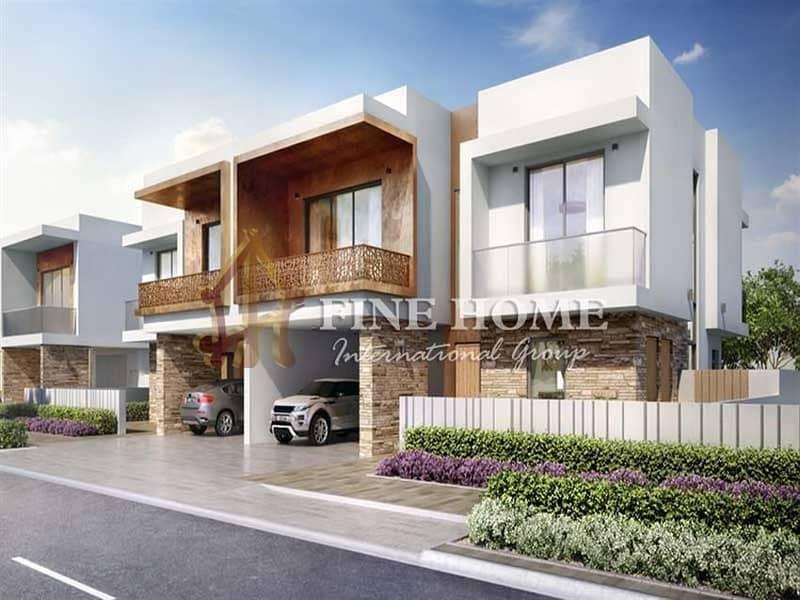 2 Gorgeous Duplex Townhouse in Yas Island!