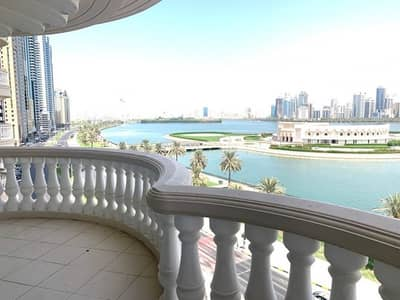 3 Bedroom Flat for Rent in Al Majaz, Sharjah - Huge Layout | 3 BHK + Maids | Chiller Free  | Commission free