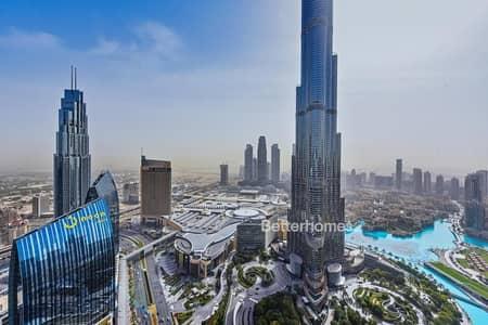 فلیٹ 3 غرف نوم للبيع في وسط مدينة دبي، دبي - High Floor | Vacant  |  Burj View  | New