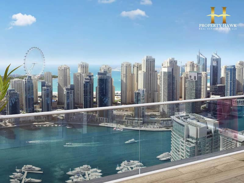 Luxury Lifestyle 4 BR with Stunning View of Marina