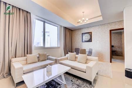 شقة فندقية 1 غرفة نوم للايجار في دبي مارينا، دبي - Marina View | Furnished 1BR | Chiller Free