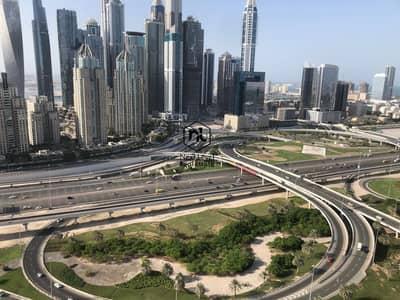 فلیٹ 1 غرفة نوم للايجار في أبراج بحيرات الجميرا، دبي - Simplex - skyline & golf course view - CHILLER FREE