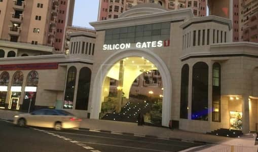 1 Bedroom Flat for Sale in Dubai Silicon Oasis, Dubai - Mortgage buyers Welcome - Spacious 1bed  with 2 Balconies - Silicon Gates 1