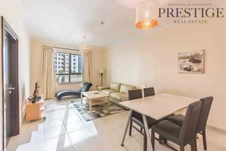 شقة 1 غرفة نوم للبيع في دبي مارينا، دبي - Marina Quays West | 1 Bed | Lower Floor