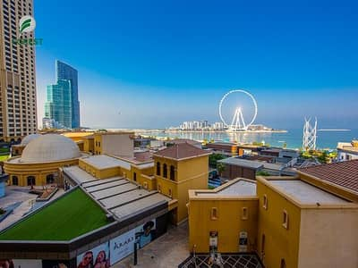 3 Bedroom Apartment for Rent in Jumeirah Beach Residence (JBR), Dubai - Vacant | Fully Furnished 3 BR | Full Sea View