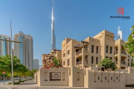 فلیٹ 2 غرفة نوم للبيع في المدينة القديمة، دبي - Vacant 2 bedroom with huge Garden Downtown