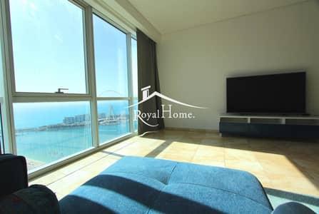 فلیٹ 3 غرف نوم للبيع في جميرا بيتش ريزيدنس، دبي - High floor   Sea view  3BR+M  Al Fattan   JBR
