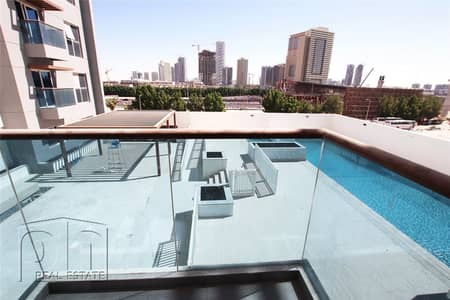 1 Bedroom Apartment for Rent in Jumeirah Village Triangle (JVT), Dubai - Pool Facing | Exclusive | 13 Month Contract