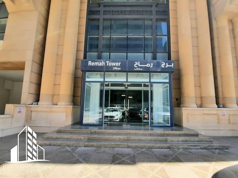 Well Furnished Offices with an Overlooking of Khalidiyah Road