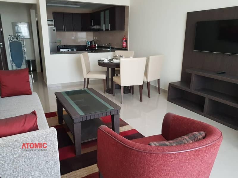 12 HOT OFFER!! EXCELLENT FURNISHED ONE BHK FOR RENT IN SIRAJ TOWER