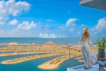 4 Bedroom Flat for Sale in Dubai Harbour, Dubai - Corner Unit | Full Sea Views | Ideal Holiday Home
