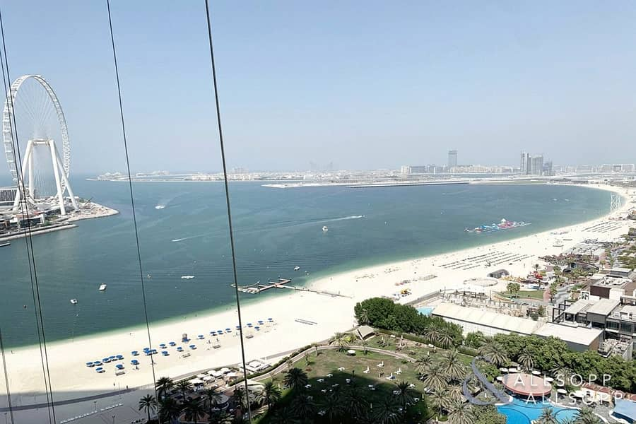 2 Full Sea View | 1 Bed | Modern Apartment