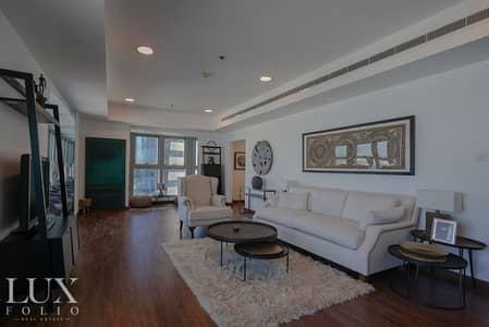 شقة 3 غرف نوم للايجار في دبي مارينا، دبي - High End Luxury Furnishings   Sea View   Upgraded