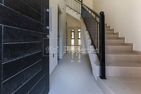 4 Bedroom Townhouse for Sale in Akoya Oxygen, Dubai - Best Price 4 BR+Maid | Claret | Brand New