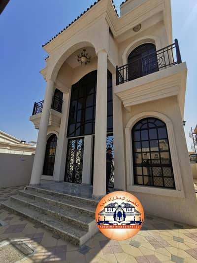 4 Bedroom Villa for Sale in Al Mowaihat, Ajman - Villa for sale, super deluxe finishing close to Sheikh Mohammed Bin Zayed Road