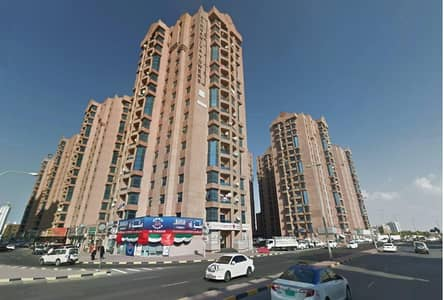 3 Bedroom Apartment for Rent in Al Nuaimiya, Ajman - Naimiyah Towers: Road View, 3 Bed Hall and  Maid 2366 sqft very big