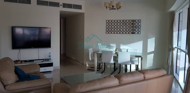 2 Bedroom Apartment for Rent in Jumeirah Lake Towers (JLT), Dubai - Furnished | Close to Metro | Bright | Big Balcony