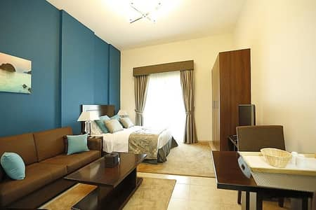 Studio for Rent in Jumeirah Village Triangle (JVT), Dubai - Fully Furnished Studio | Panoramic View | Vacant Flat