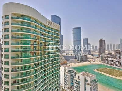 فلیٹ 1 غرفة نوم للبيع في جزيرة الريم، أبوظبي - 1BR with Full Sea View in Luxurious Beach tower